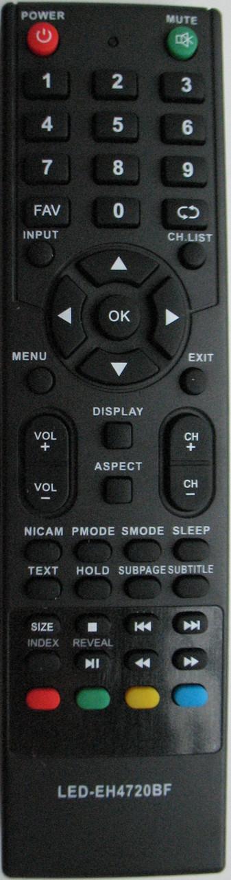 Пульт от телевизора BRAVIS. Модель LED-EH4720BF