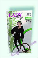 Женские бамбуковые колготы LADY May Bamboo , 350 Ден