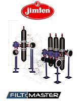 """Автоматическая система фильтрации из 4"""" двухкорпусных фильтров (450...750 куб.м/час) 6 фильтров, 100 мкм"""