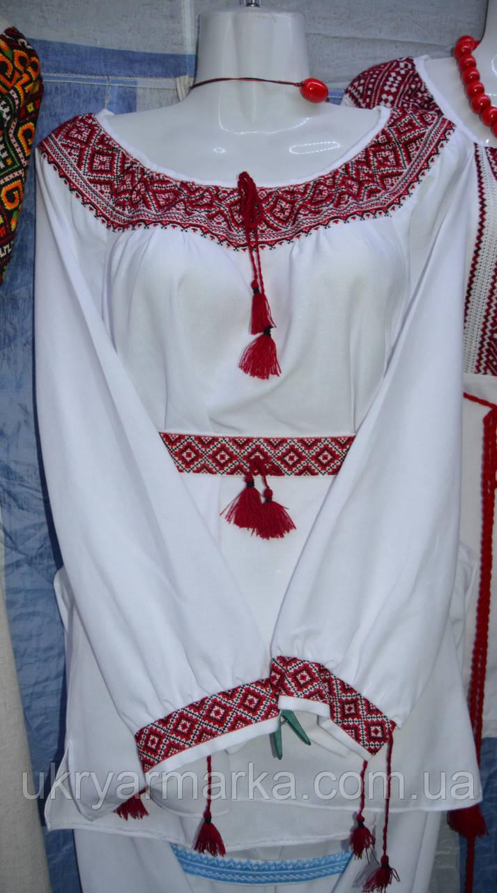 """Жіноча вишивана блузка """"Національна"""""""