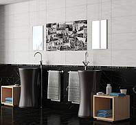 Плитка облицовочная для стен Absolute Collage черно-белый, фото 1