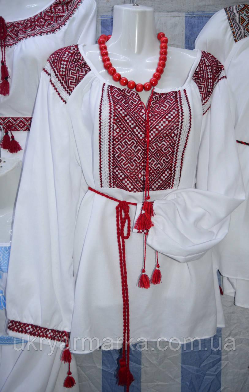 """Жіноча вишивана блузка """"Кияночка"""""""