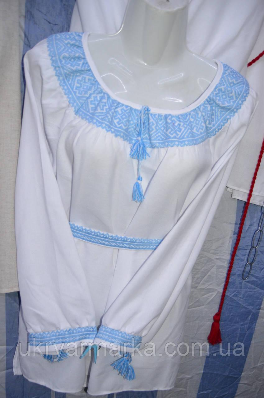 """Жіноча вишивана блузка """"Купава"""""""