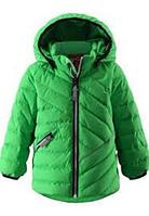 Куртка-пуховик детский Reima 511181-8490 зелений, 80)