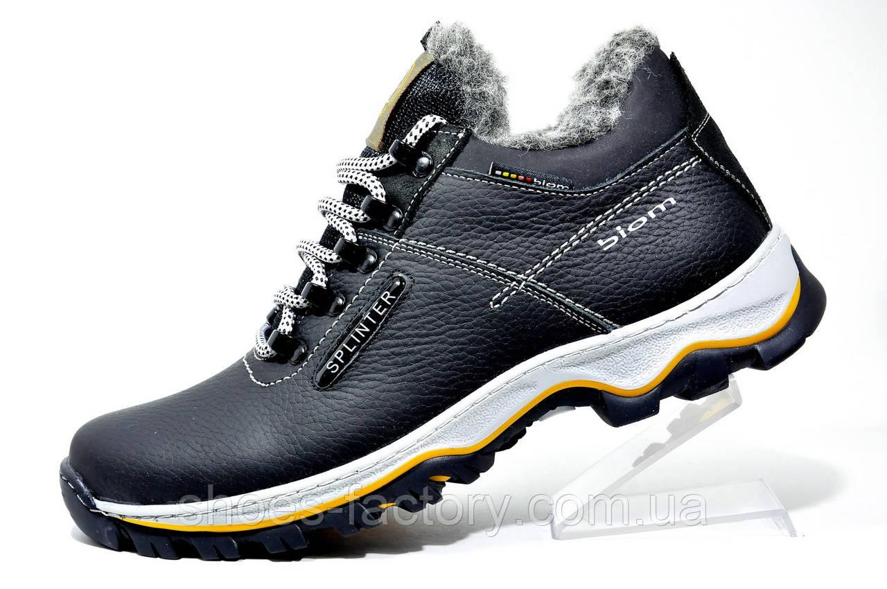 Мужские зимние ботинки Splinter кожа