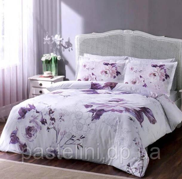 TAC Евро комплект постельного белья сатин Davina damas