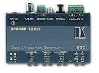 Kramer  830 Генератор цифровых/аналоговых аудиосигналов