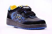Роликовые кроссовки Хилисы 12h2 черные (31, 35 , 36 , 37)