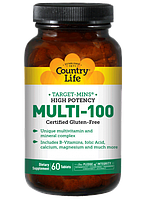 Витаминно-минеральный комплекс Multi-100 (90 табл.) Country Life