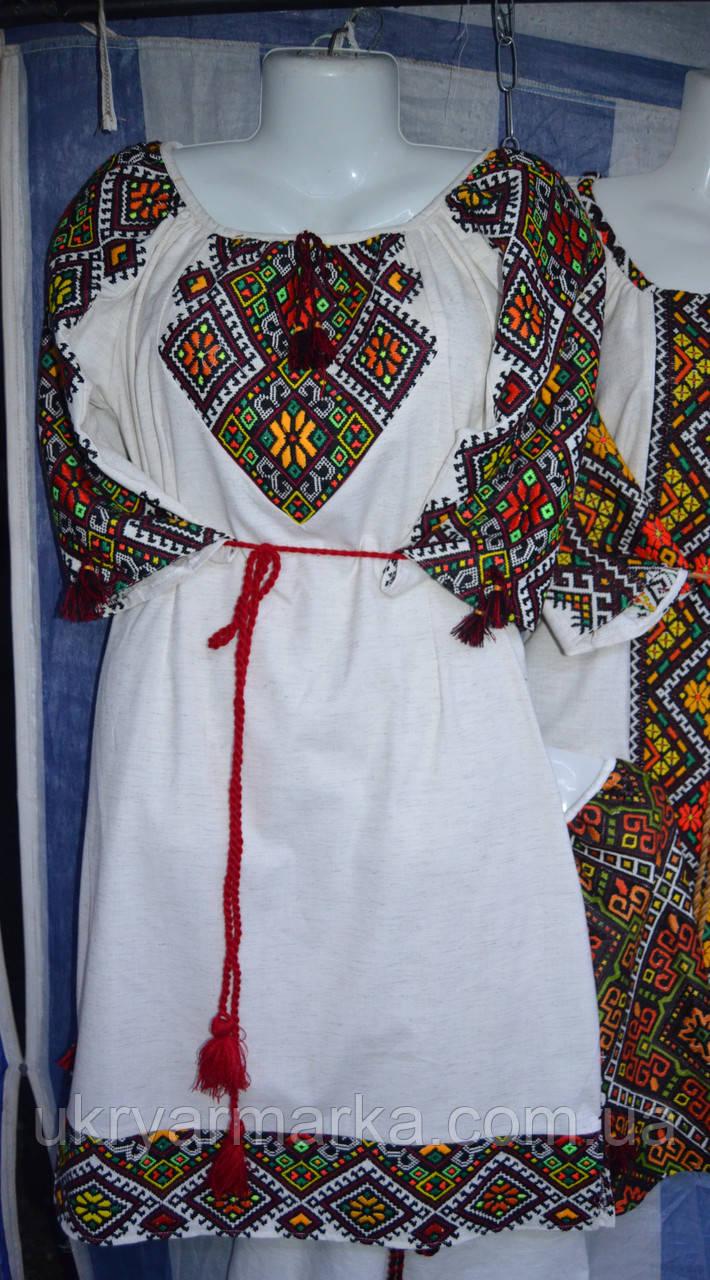 Вишита сукня