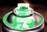 NEW TON  Аэрозольная  алкидная ,RAL 6010 цвет:Светло зеленая, фото 1