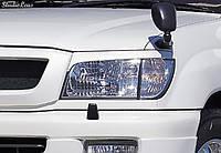 Реснички Toyota Land Cruiser 100, Накладки на фары Тойота Ленд Крузер 100