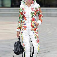 Жіночий зимовий костюм.