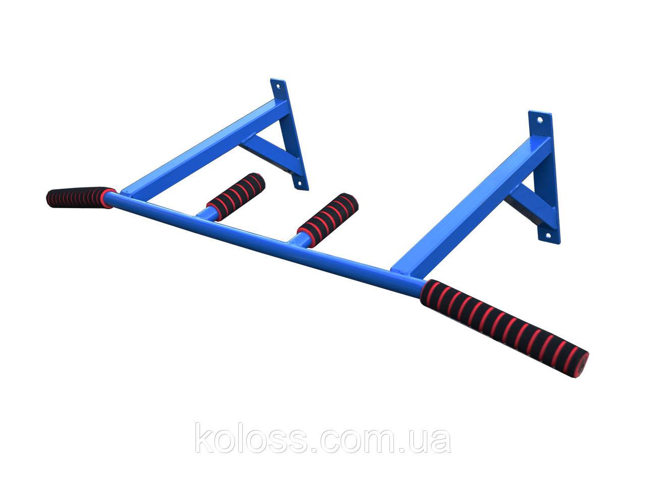 Турник настенный(синий) с узким хватом от TM Koloss-sport