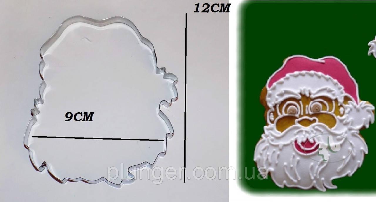 Вирубка для пряника Санта