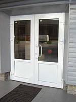 Дверь металлопластиковая 1600 х 2100 двухстворчатая Wintech