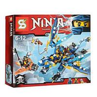 """Конструктор (Ninjago) 70602 ниндзяго """"Дракон Джея """"аналог Lego лего 382 деталей"""