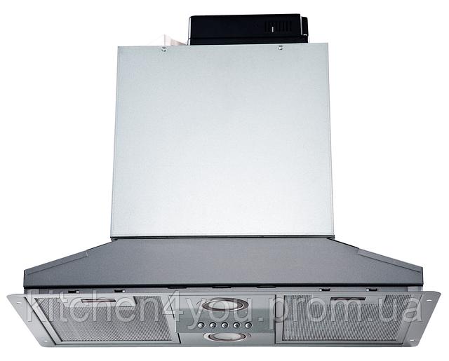 Pyramida HBE 36 (550 мм.) полновтраиваемая кухонная вытяжка, серебристая эмаль