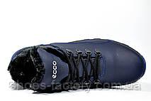 Мужские зимние ботинки в стиле Ecco, (Обувь Экко), фото 3