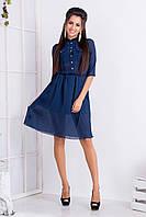 Женское легкое шифоное платье