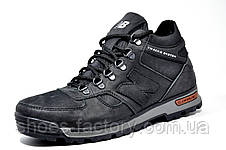 Мужские зимние ботинки в стиле New Balance, Черные, фото 2