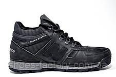 Мужские зимние ботинки в стиле New Balance, Черные, фото 3
