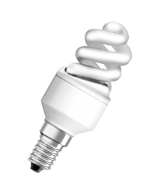 Лампа энергосберегающая 15W 4000K E14