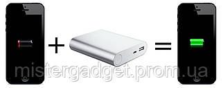 PowerBank 10400mAh Внешний Аккумулятор Золото