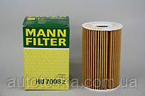Фільтр масла MANN-FILTER HU 7008 z