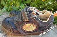 Туфли кроссовки на липучках. стелька 18см