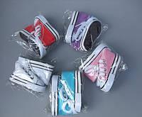 В наличии обувь кеды для кукол 7,5 см длина 3,5 см ширина.