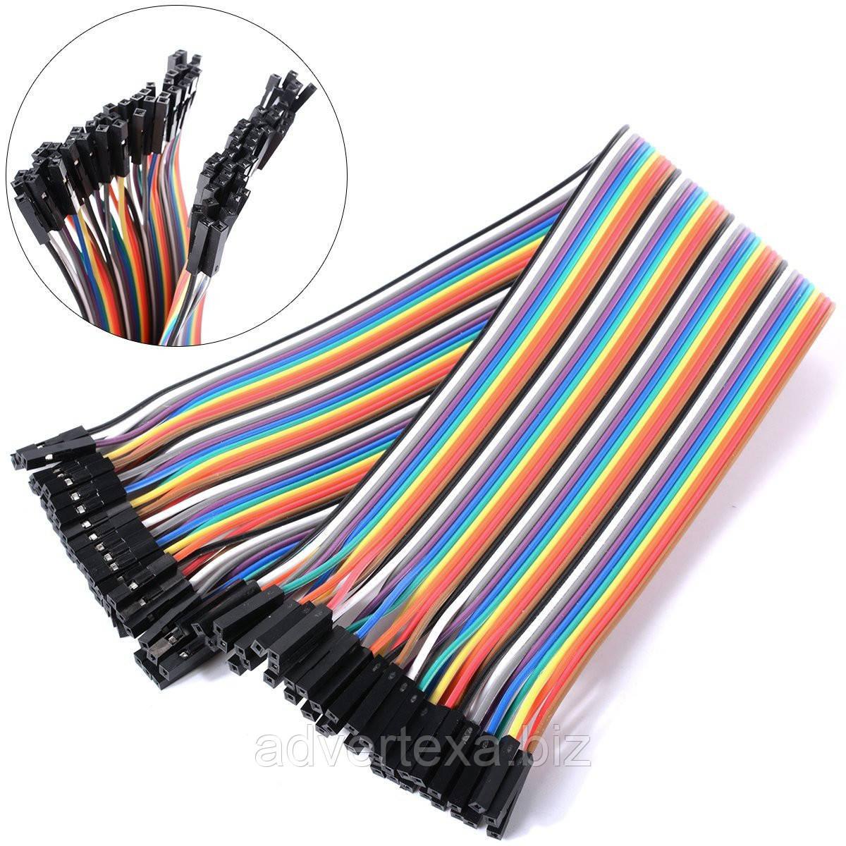 40 штук Dupont Дюпон кабель мама-мама 20см