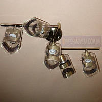 Спот-люстра с поворотными направляемыми плафонами пятиламповая KODE:455355