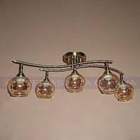 Спот-люстра с поворотными направляемыми плафонами пятиламповая KODE:464401