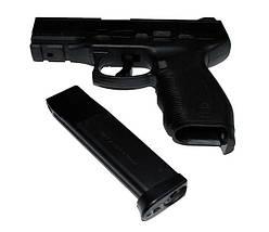 Пистолет KWC KM 46, +система полуавтоматического огня, копия пистолета Heckler & Koch P30. , фото 2