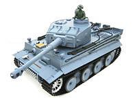Танк на радиоуправлении 1:16 Heng Long Tiger I с пневмопушкой и дымом (HL3818-1)