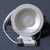 Светодиодный LED светильник 3w круг встраиваемый KODE:531005