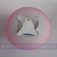 Точечный светильник для подвесных и натяжных потолков с кристаллом KODE:316245