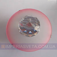 Точечный светильник для подвесных и натяжных потолков с кристаллом KODE:316312