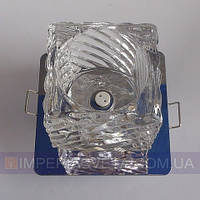 Точечный светильник для подвесных и натяжных потолков с плафоном KODE:313616