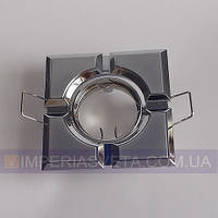 Точечный светильник для подвесных и натяжных потолков квадратный поворотный KODE:324560