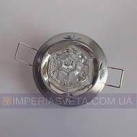 Точечный светильник для подвесных и натяжных потолков с кристаллом KODE:316145