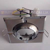 Точечный светильник для подвесных и натяжных потолков квадрат поворотный KODE:313245