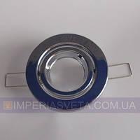 Точечный светильник для подвесных и натяжных потолков поворотный KODE:100632
