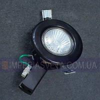 Точечный светильник для подвесных и натяжных потолков галогенный  неповоротный KODE:125011