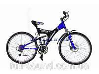 Спортивный велосипед Azimut Sprint 26 дюймов. Black-blue