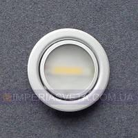 Подсветка светильник для мебели, полок, шкафов светодиодная встраиваемая KODE:446056
