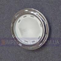 Подсветка светильник для мебели, полок, шкафов галогенная встраиваемая со стеклом KODE:126100