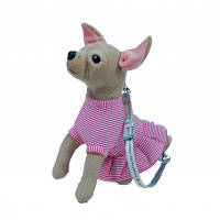 FUZZY NATION - Сумочка Chihuahua в полосатом платье