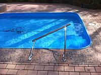 Поручни из нержавейки для бассейнов